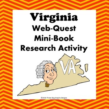 Virginia Webquest Common Core Research Mini Book
