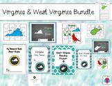 Virginia & West Virginia Themed Bundle- 14 resources