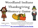 Virginia Woodland Indians Review Memory Game