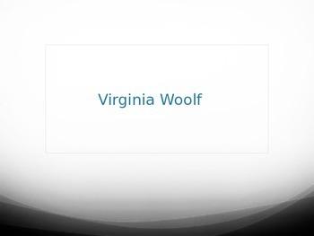 Virginia Woolf PowerPoint