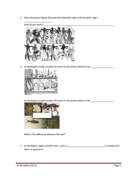 Virginia World History I SOL Review Packet