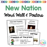 Virginia and the New Nation Word Wall/Poster Set (VS.6)