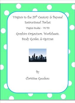 Virginia in 20th Century - Instructional Packet - VA SOL -
