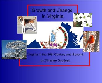 Virginia in the 20th Century & Beyond SMARTboard Instructi