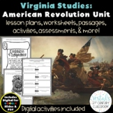 Virginia in the American Revolution VS.5 {Digital & PDF Included}