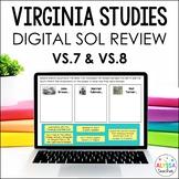 Virginia in the Civil War & Reconstruction Google Drive Review (VS.7 & VS.8)
