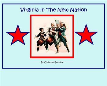 Virginia in the New Nation SMARTboard Lesson - Constitutio