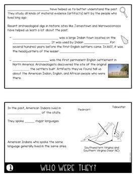Virginia's American Indians Flip Book (VS.2)