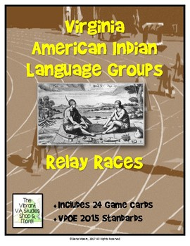 Virginia's American Indians Relay Race