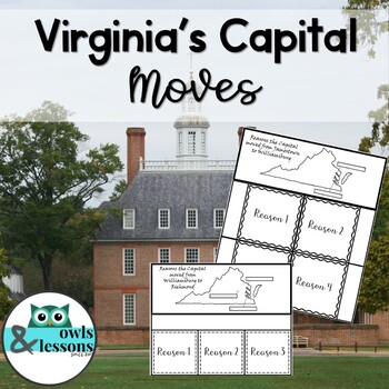 Virginia's Capital Moves - 2016 Standards
