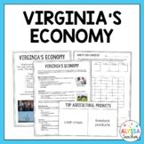 Virginia's Economy Handout (VS.10b-c)