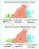 Virginia's Native American Language Map