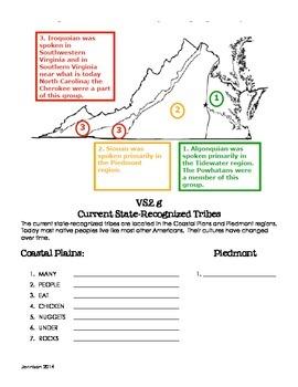 Virginian Native Americans Notes VS.2d-g