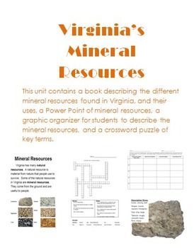 Virginia's Mineral Resources