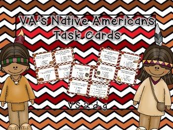 Virginia's Native Americans Task Cards
