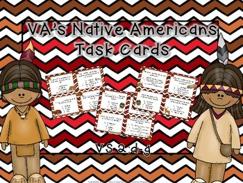 Virginia's Native Americans Task Cards