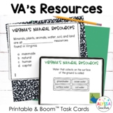 Virginia's Natural Resources Task Cards (SOL 4.9)