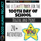 Virtual 100th Day Of School Class Party Activities | Remot