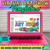 Virtual Art Show Templates: Online School Art Exhibit for