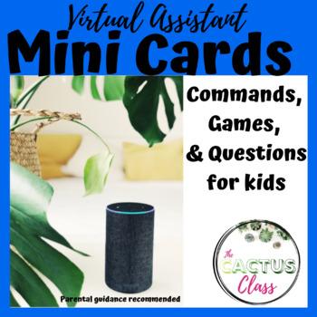 Virtual Assistant Mini-Command Cards