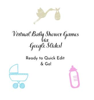 Baby Shower Virtual Scavenger Hunt