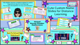 BUNDLE! Back To School/Assessment/Editable Schedules/Virtual Conferences/Names
