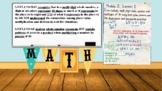 Virtual Background & Anchor Chart Math 5th grade