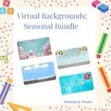 Virtual Backgrounds: Seasonal Bundle
