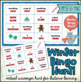 Virtual Bingo Scavenger Hunt: WINTER (Distance Learning)