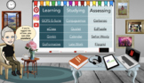 Virtual Bitmoji Classroom Template
