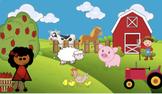 Virtual Bitmoji Google Slides Field Trip - Farm - EDITABLE