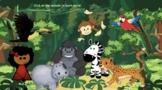Virtual Bitmoji Field Trip - Jungle - EDITABLE