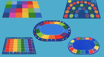 Virtual Bitmoji Google Slides Classroom Rugs By Toyanicol3 Tpt