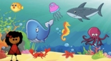 Virtual Bitmoji Google Slides Field Trip - Ocean - EDITABLE