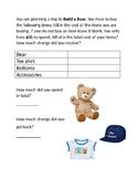 Virtual Build a Bear Trip: Money Matters