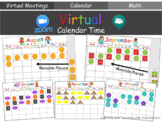 Virtual Calendar Time for Distance Learning