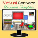 Virtual Centers Classroom Template Distance Learning