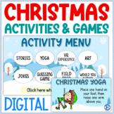 Virtual Christmas Activities   Virtual Christmas Party   D