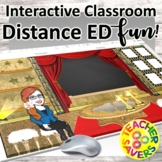 Virtual Classroom Backgrounds for Distance Learning
