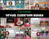 Virtual Classroom Bundle | Bitmoji | Fully Editable