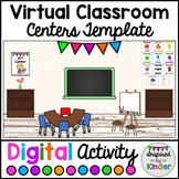 Virtual Classroom Centers Template | For Google Slides™ |