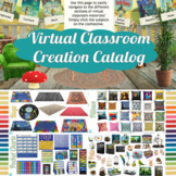 Virtual Classroom Creation Catalog (Over 1300 images)! Add