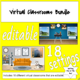 Bitmoji Virtual Classroom Templates- Editable- All Levels-