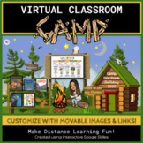 Virtual Classroom- Editable Camp Theme