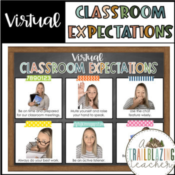 Virtual Classroom Expectations for Distance Learning