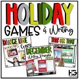 Virtual Classroom Games | Christmas and Holidays | Distanc
