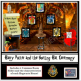 Virtual Classroom-Harry Potter Theme : The Hogwarts Sorting Hat Ceremony