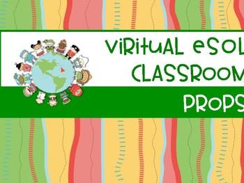 Virtual ESOL Classroom ( VIPKID ) Props