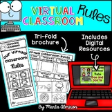 Virtual Classroom RULES {Brochure, Digital Resources, and