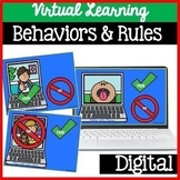 Virtual Classroom Rules Learning Expectations